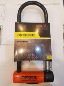 מנעול קריפטונייט 8